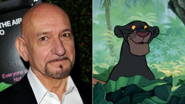 """Ben Kingsley dá voz a Baguera na nova versão de """"O Livro da Selva"""""""