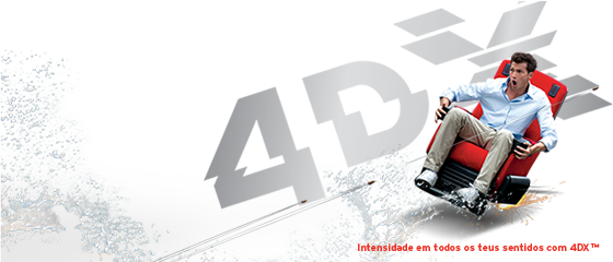 O 4DX chega ao Cinema NOS GaiaShopping!