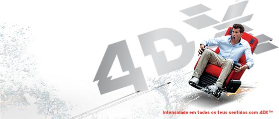 O 4DX chega ao Cinema NOS GaiaShopping!
